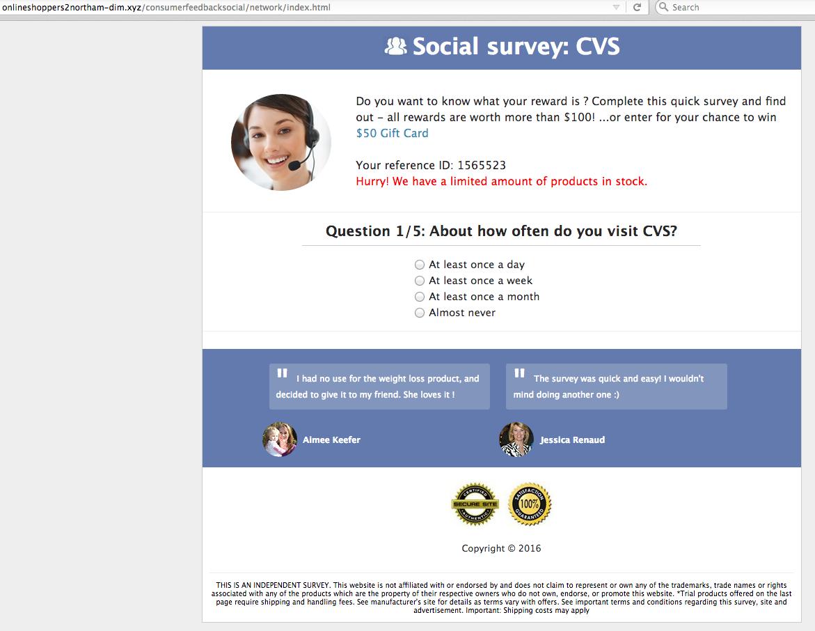 cvs-survey